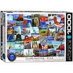 Globetrotter USA - 1000 Pieces |Eurographics Jigsaw